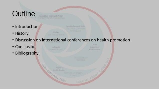Recent health promotion global declaration