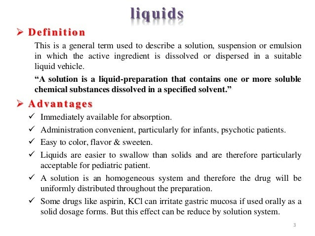 Recent Innovation In Liquid Dosage Form 1by Sachin