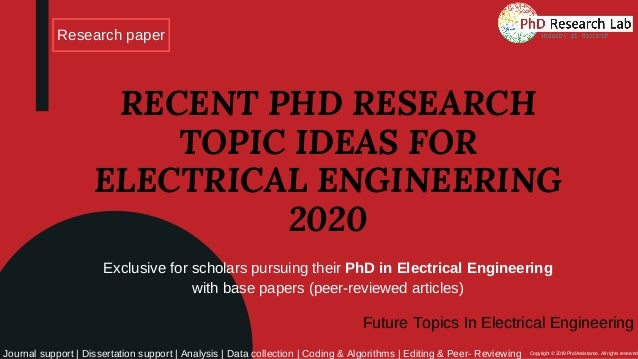 Phd Electrical Thesis