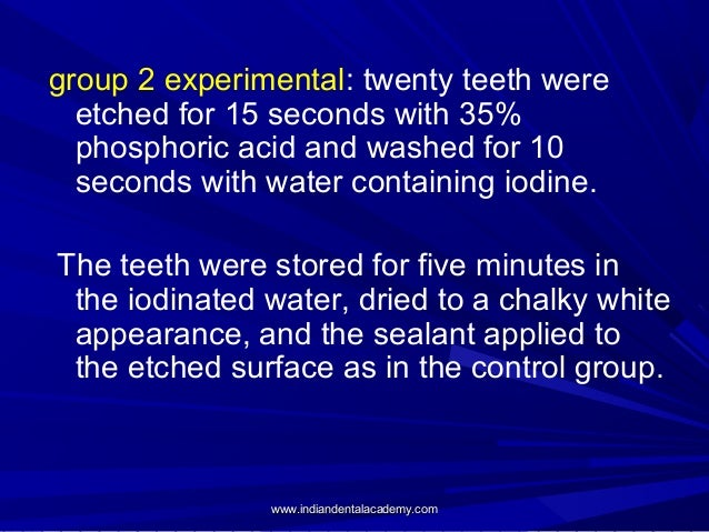effect of iodine on dental waterlines The microbiological quality in dental unit waterlines (duwls) is considered to be important because patients and dental staff with suppressed immune systems are regularly exposed to water and microbial contamination of dental unit waterlines and effect on quality of indoor air | springerlink.