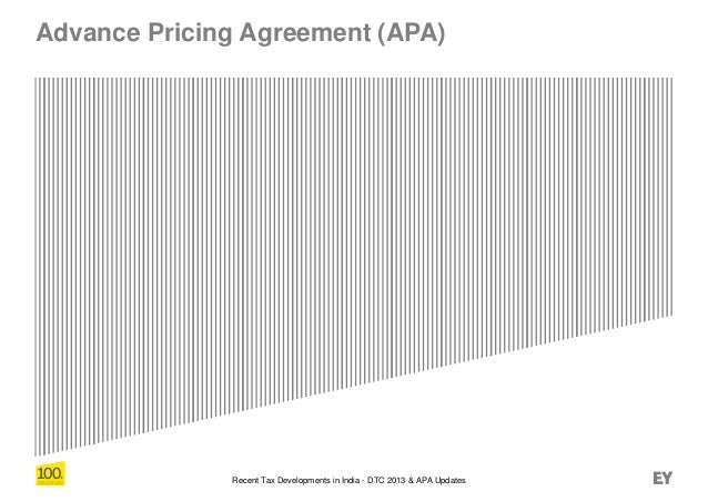 Recent Tax Developments In India Dtc 2013 Apa Updates