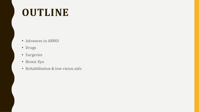 8573451020 ARMD Management-Recent Advances