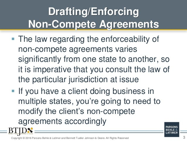 Recent Updates And Practical Advice About Trade Secrets, Non-Compete …