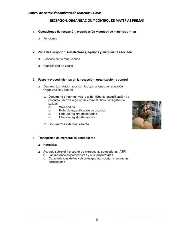 Recepci n organizaci n y control de materias primas for Manual de procedimientos de alimentos y bebidas de un hotel