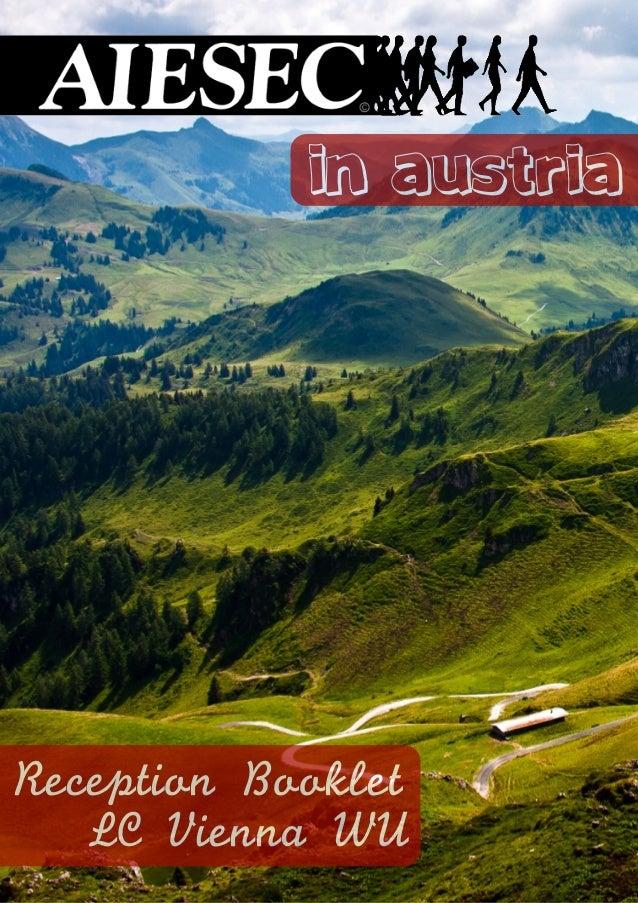 1 in austria Reception Booklet LC Vienna WU