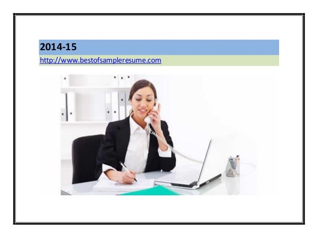 Coursework on a resume receptionist position