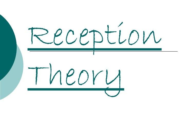 ReceptionTheory