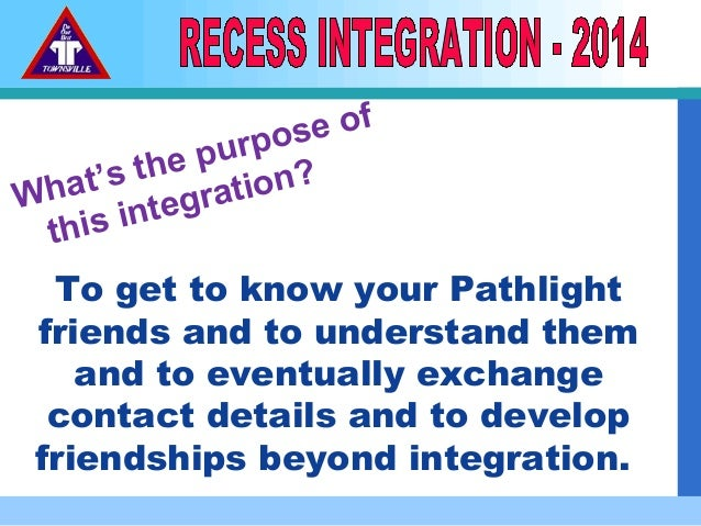 What's the purpose of this integration? To get to know your Pathlight friends and to understand them and to eventually exc...