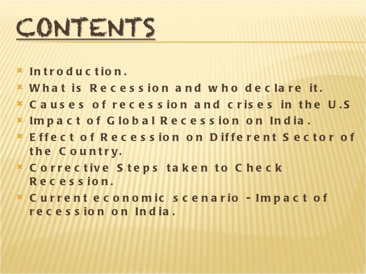 causes of global recession 2008 The great recession was the sharp decline in economic activity and the ensuing global recession in a closer look at some of the causes of the great recession.