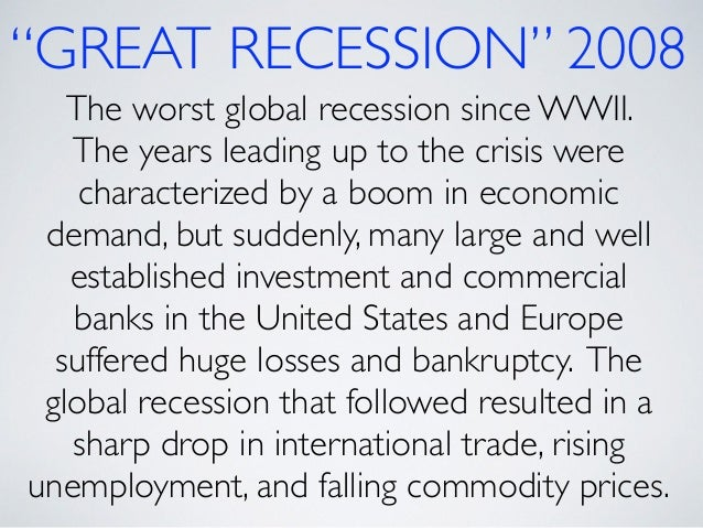 effects of 2008 global recession to Table 6: approved projects 1996 -2008  initially the global effects to tanzania were limited such that the country survived the first round effects of the gfc.