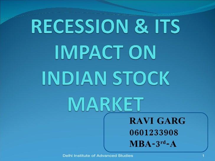 RAVI GARG 0601233908 MBA-3 rd -A Delhi Institute of Advanced Studies