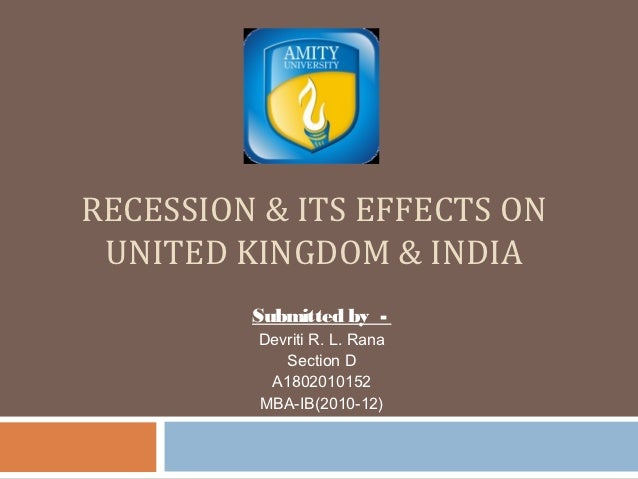the recession causes and effects This study estimates the impacts of increases in unemployment rates on both all- cause and cause-specific mortality across us metropolitan.