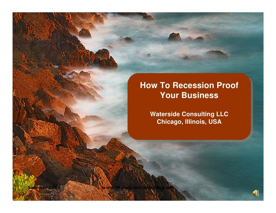 How To Recession Proof                             How To Recession Proof                                 Your Business   ...