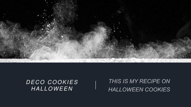 DECO COOKIES HALLOWEEN
