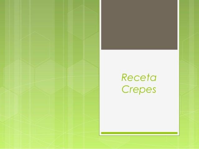 RecetaCrepes