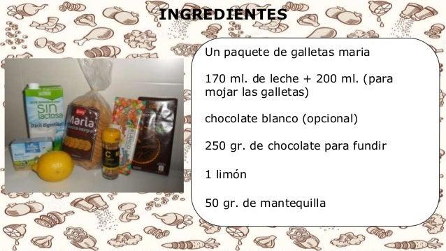 Receta de cocina tarta de chocolate y galletas for Procedimiento de cocina