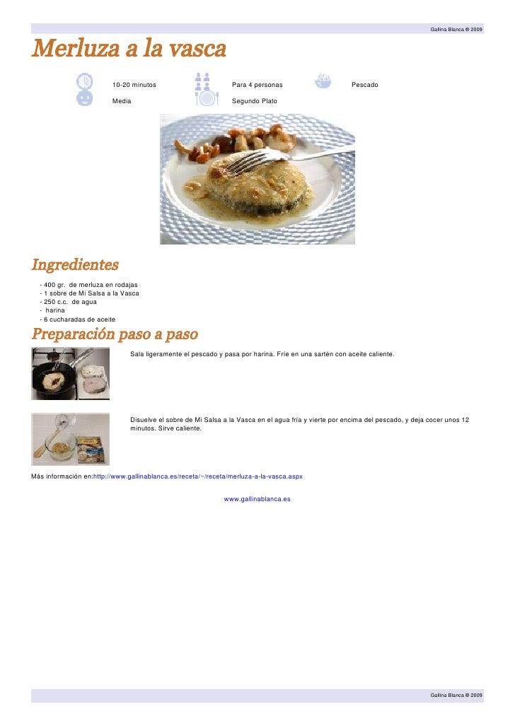 Recetario de potajes y guisos for Cocinar merluza a la vasca
