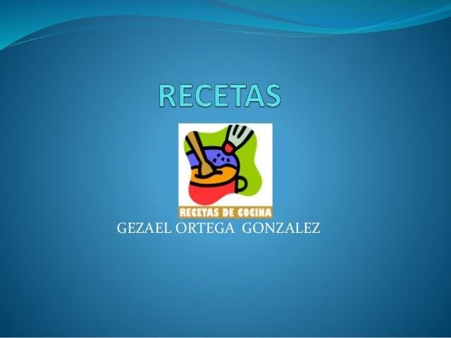 GEZAEL ORTEGA GONZALEZ