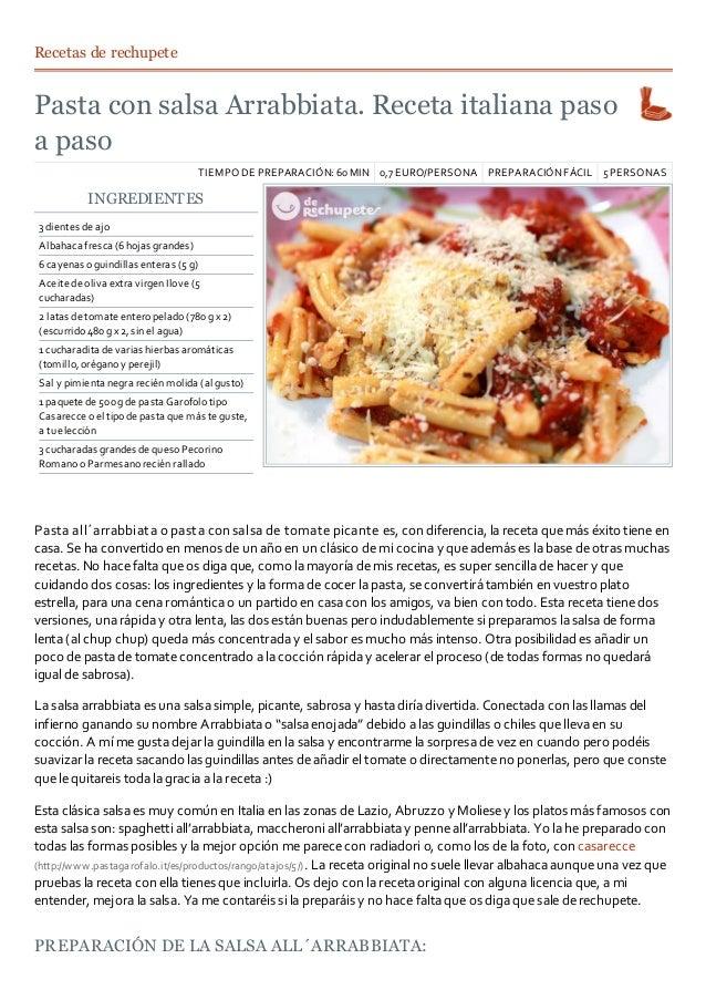 Recetas Por 5 Euros C Cocina | Recetas Cocina Italiana Web