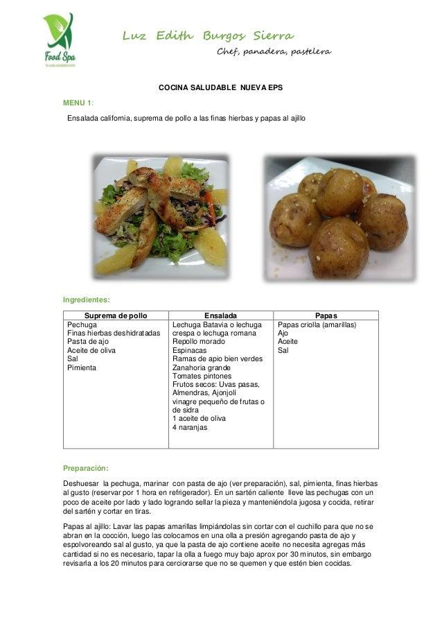 Recetas cocina saludable - Recets de cocina ...