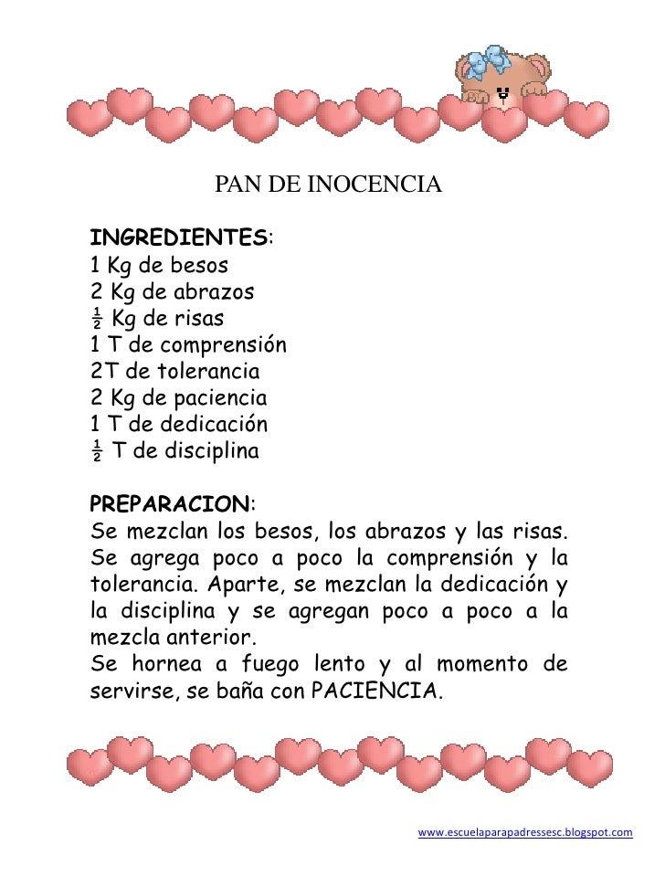 Recetas de autoestima for La cocina de dibujos pdf