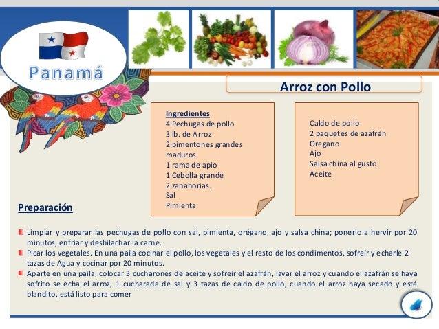Recetas de comidas t picas de panam for Procedimiento de cocina