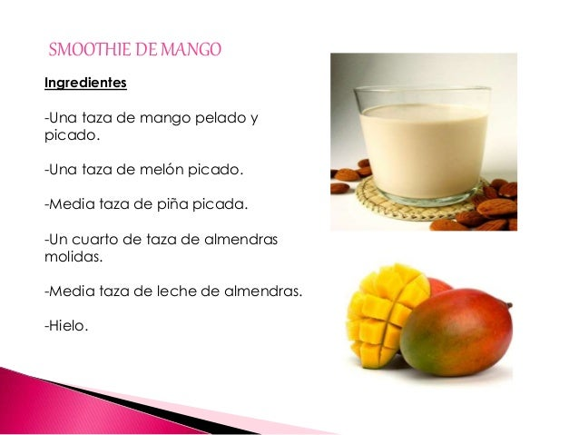 Recetas de smoothies definitiu