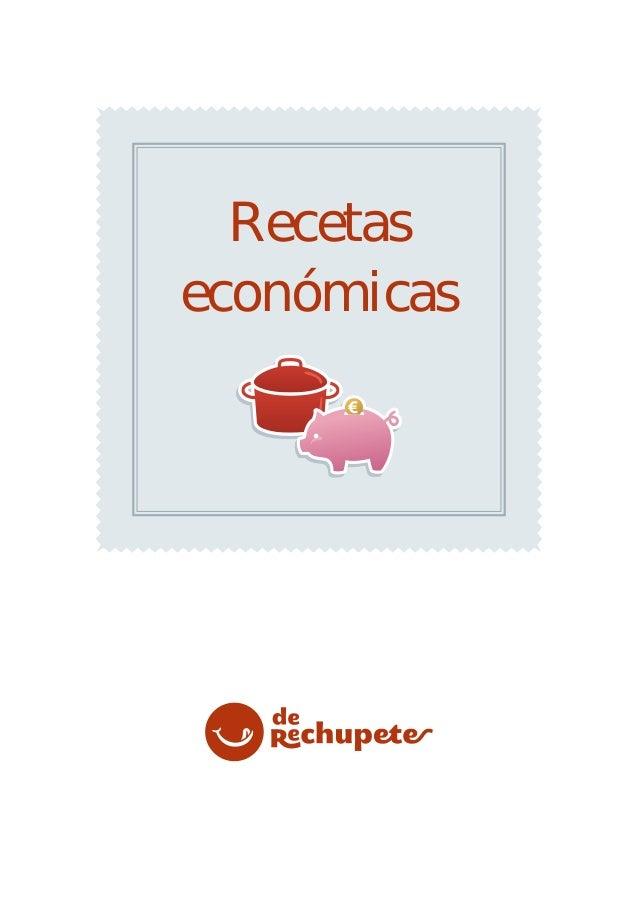 Recetaseconómicas
