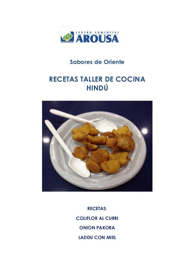 Taller De Cocina Sabores | Recetas Taller Cocina Hindu Sabores De Oriente