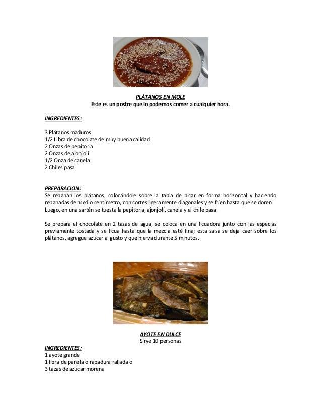20 recetas de cocina cortas y faciles