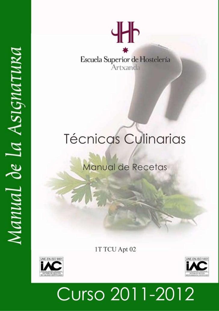 Recetas universidad pais vasco for Universidad cocina pais vasco