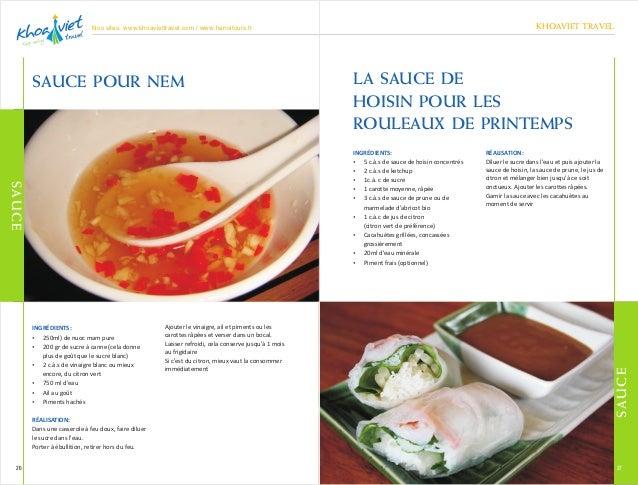 Recettes de cuisine vietnamienne for Cuisine vietnamienne