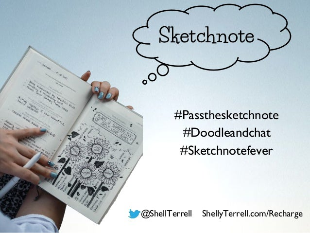 #Passthesketchnote #Doodleandchat #Sketchnotefever @ShellTerrell ShellyTerrell.com/Recharge Sketchnote