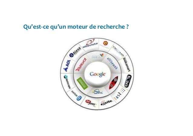 Qu'est-ce qu'un moteur de recherche ?