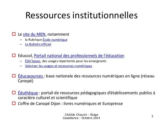 Recherche d'information et sites incontournables - Lycée Massignon Slide 2