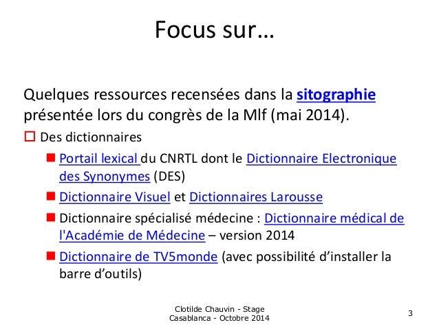 Recherche d'information et sites incontournables - Lycée Massignon Slide 3