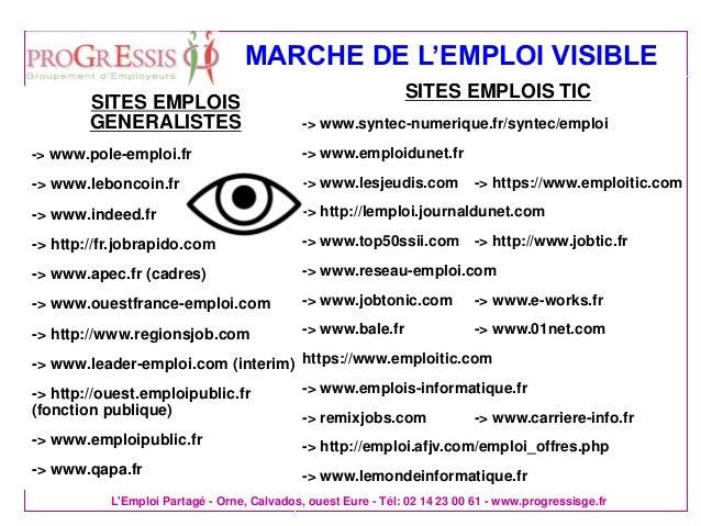 rechercher un emploi avec le web social