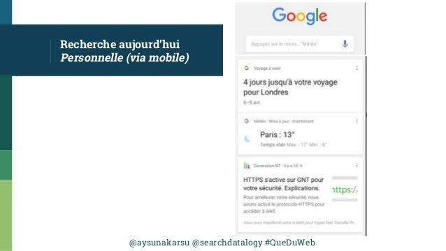 @aysunakarsu @searchdatalogy #QueDuWeb Recherche aujourd'hui Personnelle (via mobile)