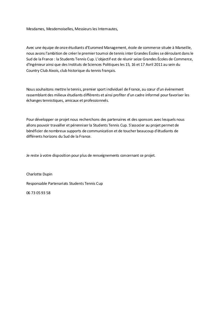 Mesdames, Mesdemoiselles, Messieurs les Internautes,Avec une équipe de onze étudiants dEuromed Management, école de commer...