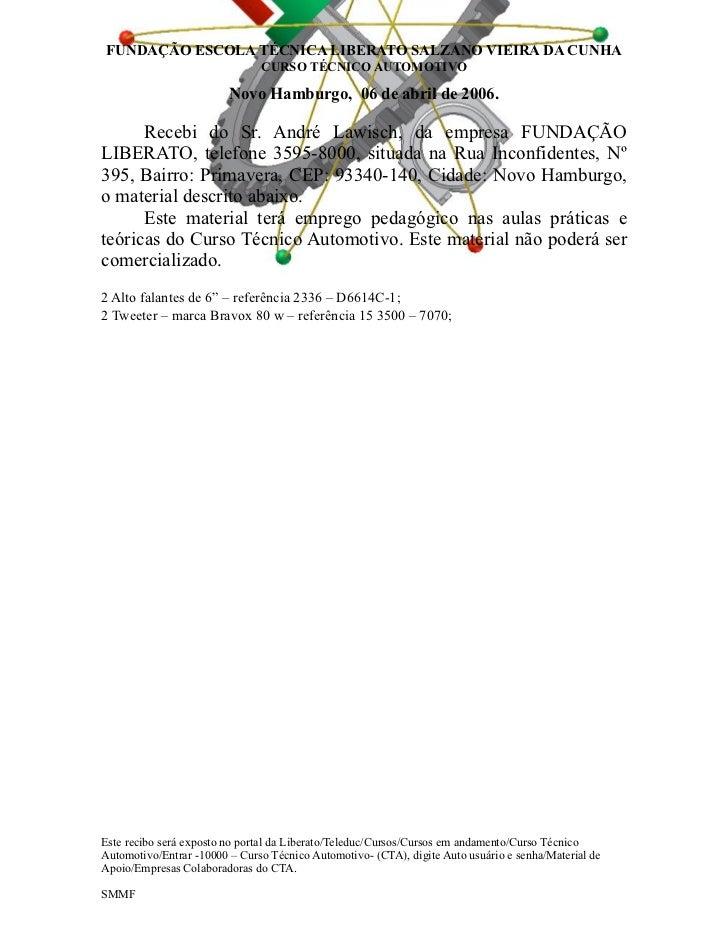 Recibos das empresas colaboradoras - Empresas colaboradoras ...