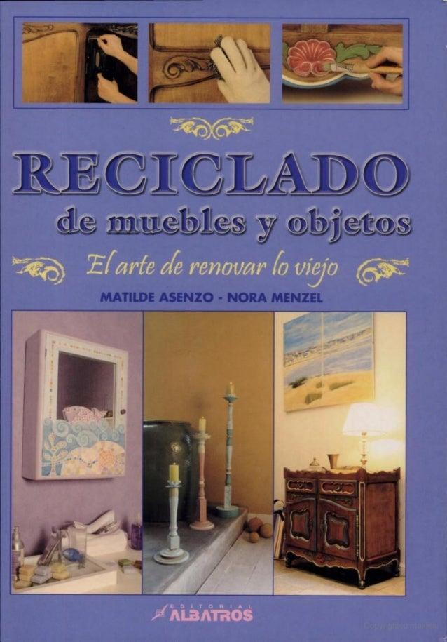reciclado de muebles y objetos On reciclado de muebles y objetos