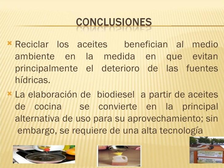 Reciclado y usos del aceite usado de grupo wiki for Reciclar aceite de cocina