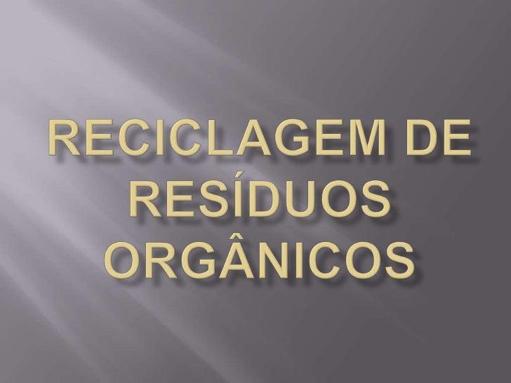 A grande maioria das terras brasileiras possuibaixos teores de matéria orgânica, tão   importantepara a fertilidade dos so...