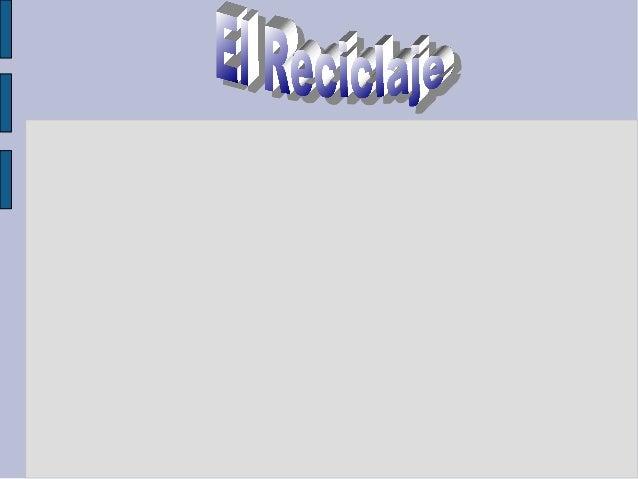 ElReciclaje ● Algotansencillocomoclasificarlabasura.