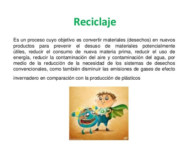 Reciclaje Slide 2