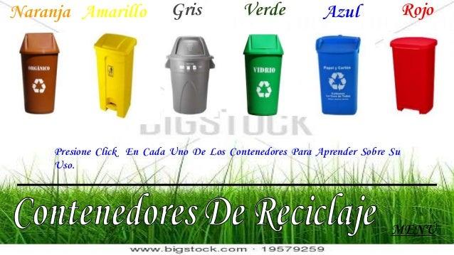 Reciclaje de basura - Contenedores de basura para reciclaje ...