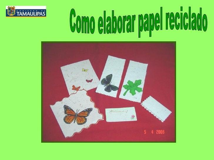 Reciclar papel - Como reciclar correctamente ...