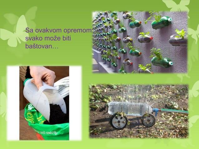  Za pravljenje ukrasa nekako je najlakse iskoristiti plastične flase. Ovi ukrasni cvetići koji su napravljeni od dna flaš...