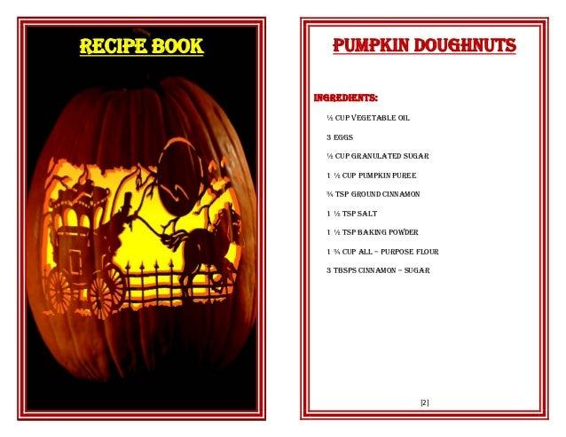 Csec food nutrition recipe book 1 recipe book 2 pumpkin doughnuts ingredients cup vegetable oil forumfinder Choice Image