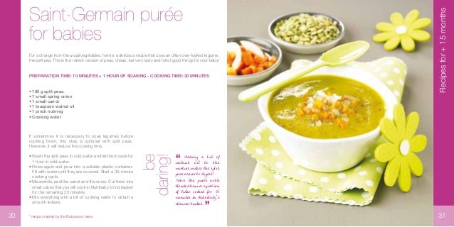Recipe book nutribaby babymoov 16 forumfinder Choice Image